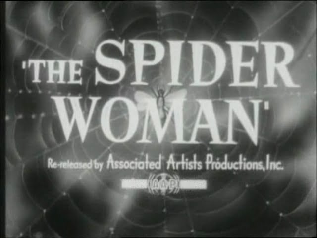 Sherlock Holmes and the Spider Woman (1943) TRAILER