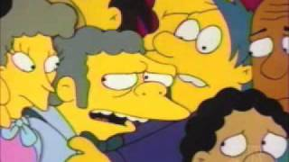 Simpsons - Bomb Shelter Scene