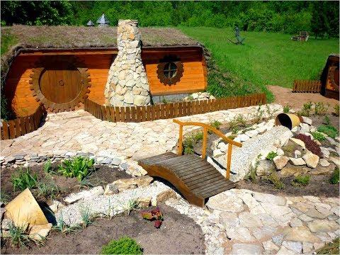 Ландшафтный дизайн. Дом хоббитов своими руками. Часть 1