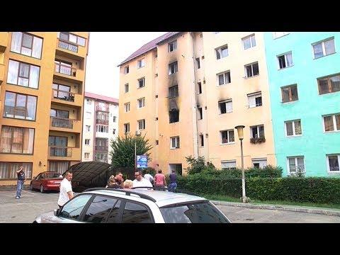 Un bloc a fost evacuat din cauza unui incendiu la Sibiu   novatv.ro