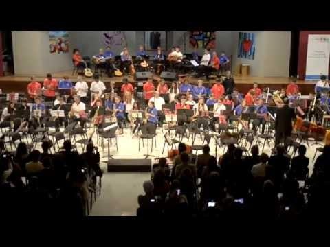 Orquesta HARINGEY YOUNG MUSICIANS en concierto 2015. Part 3