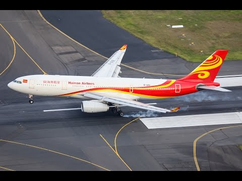 Hainan Airlines' inaugural Changsha to Sydney flight