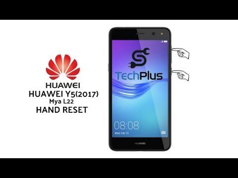 Huawei Y5-2017 Mya L22 hand reset