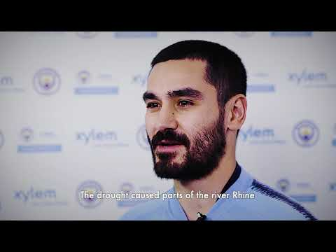 @ManCity Ilkay Gundogan Talks About Water Challenges Water challenges are Close to Home for Gundogan...in Germany. #LetsSolveWater @XylemInc.