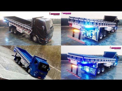 ENCOMENDA: Miniatura de Caminhão Accelo Carroceria Truck