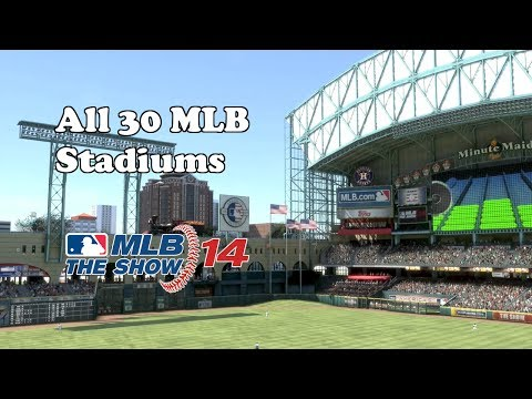 MLB 14 The Show (PS4) | All 30 MLB Stadiums