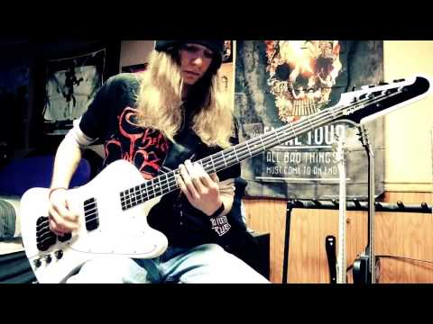 """Sixx:A.M. """"Life is Beautiful"""" Bass Cover"""