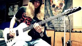 "Sixx:A.M. ""Life is Beautiful"" Bass Cover"