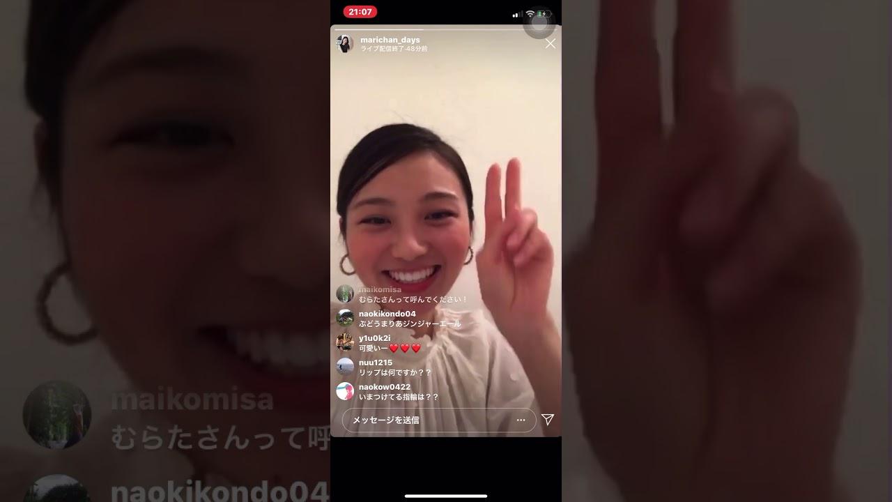 水田 あゆみ インスタ ライブ