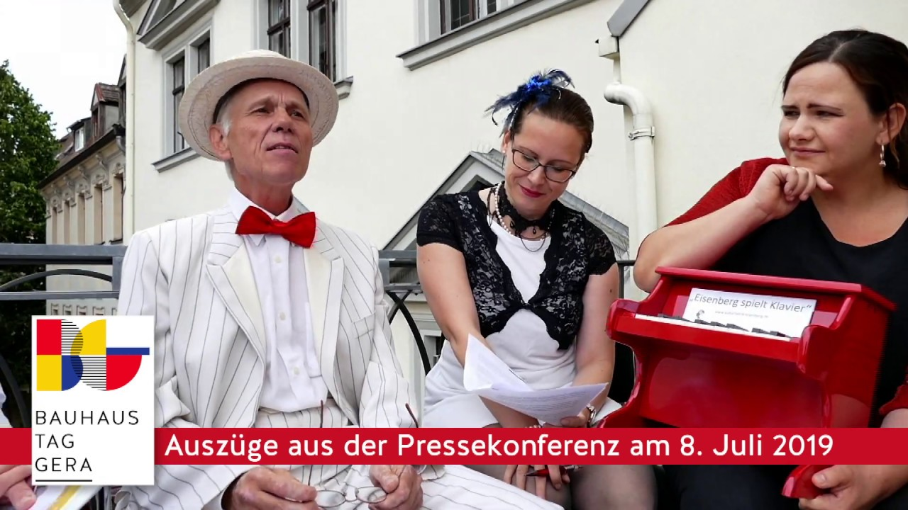 Bauhaus-Tag Gera 11  August 2019 Videos