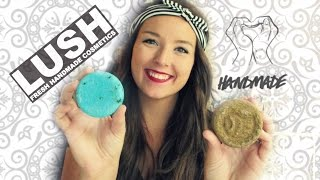 Lush Solid Shampoo Bar Review: Copperhead & Seanik