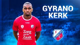 Gyrano Kerk ● All Goals, Assists & Skills - 2017/2018 ● FC Utrecht