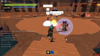 Roblox [Swordburst 2] Trading my chaos and demon for fire and dsr and 150 robux Rob