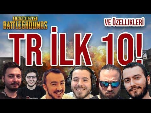 Türkiye'nin En İyi 10 PUBG Oyuncusu - (Mithrain, Wtcnn, Zeonn, Mirliva, Unlost, Jahrein, Enes Batur)