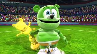 BACKWARDS Gummibär REQUEST VIDOE Go For The Goal Russian Gummy Bear Song
