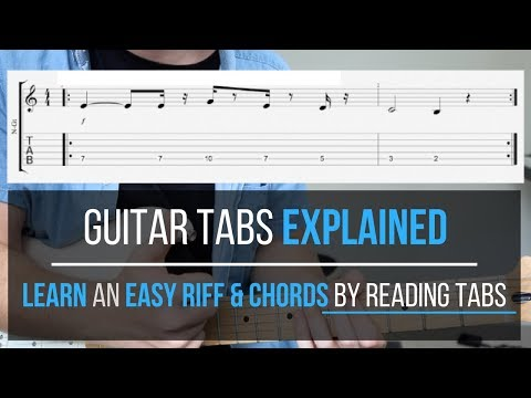 Guitar Tabs Explained | How to Read Guitar Tabs