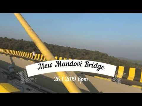 New Mandovi bridge Goa - A preview