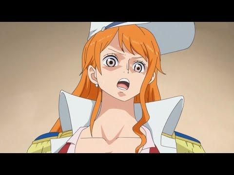 Nami wird von der Marine erkannt | One Piece GER SUB