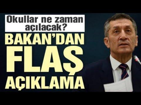 Son dakika! Bakan Ziya Selçuk açıkladı: Okullar ne zaman ...