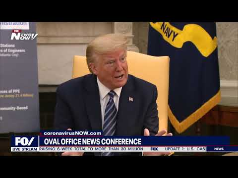 President Trump goes at it with CNN's Jim Acosta in the Oval Office: Your network 'tormented' Gen. Flynn. I sure hope you report his 'total exoneration'