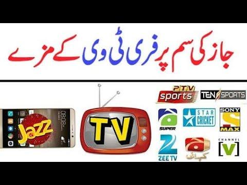Jazz free tv, Jazz free internet, nika tv latest version
