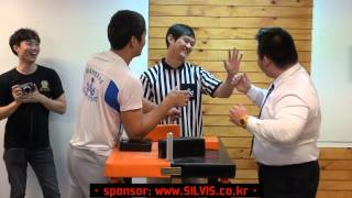 """King of the Table by Kazakhstan Armwrestling Champion """"Kydyrgaly Ongarbaev"""""""