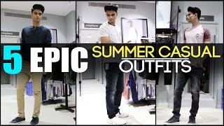5 EPIC Summer CASUAL OUTFITS Every Man Needs | Classic Men