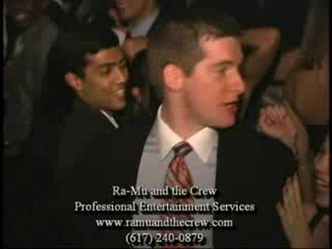 Ra-Mu and the Crew (Harvard Medical School Holiday Party)