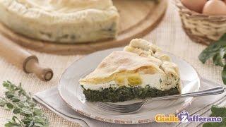 Torta Pasqualina ( Savory Easter Pie ) - Italian Recipe