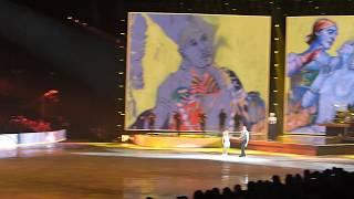 Art on Ice 2018, A.Savchenko & B.Massot with E.Sandé
