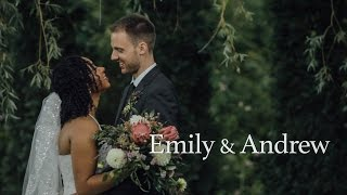 This couple shares beautiful vows to each other