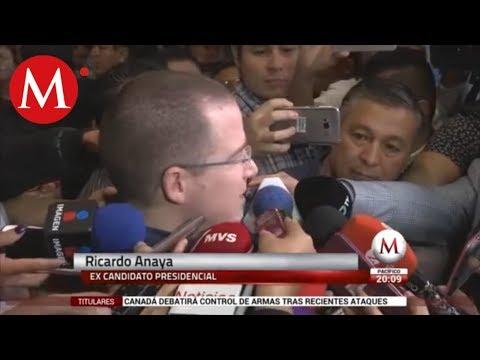 Ricardo Anaya reaparece y anuncia salida de la política
