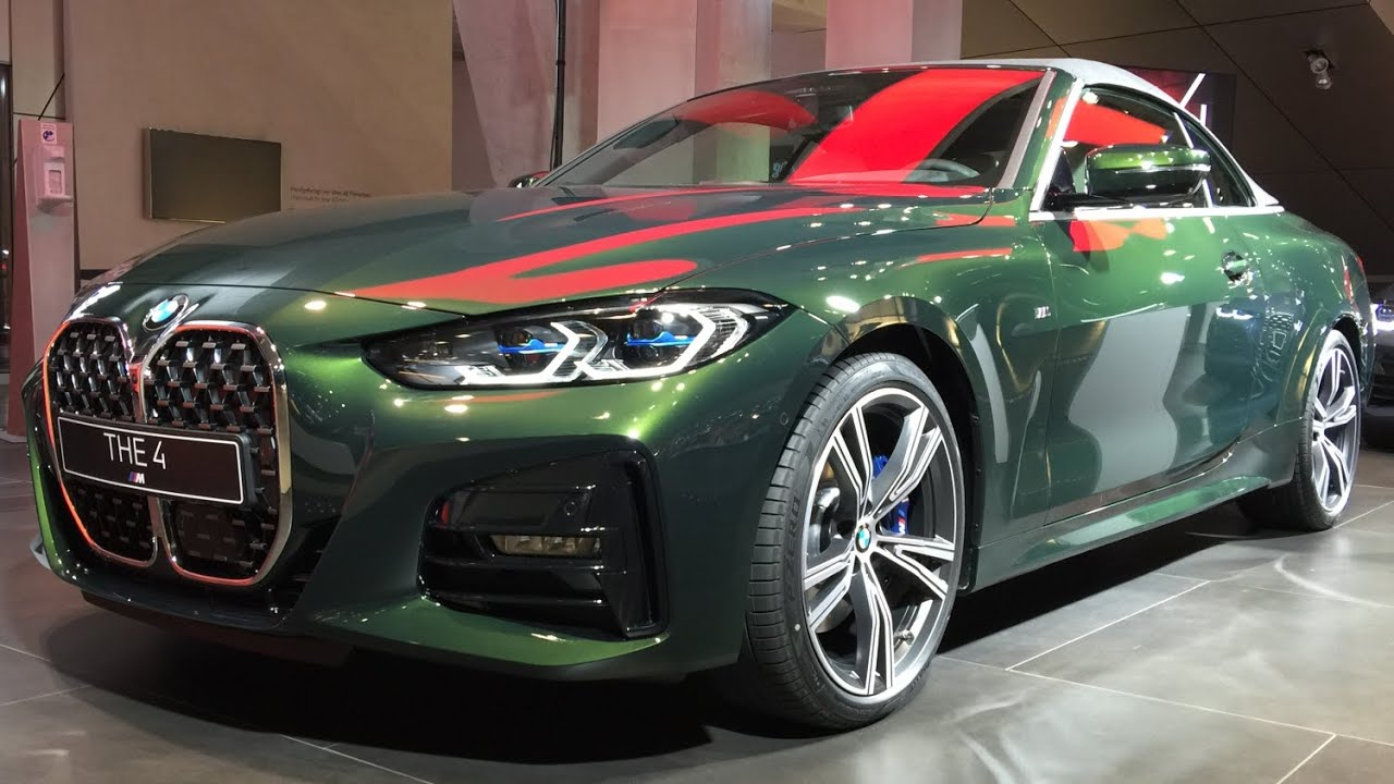 2021 BMW 430i Cabrio G23 - Verdeck geschlossen - YouTube