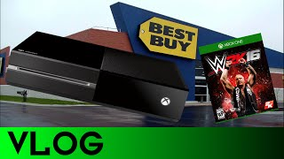 VLOG # 1: Buying my first XBOX ONE at Best Buy!!!