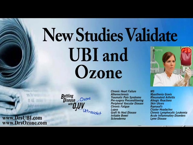The missing element in most ozone therapies - make sure your doctor does this