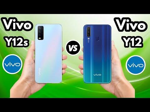 Vivo Y12s vs Vivo Y12 - OFFICIAL SPECIFICATIONS Comparison