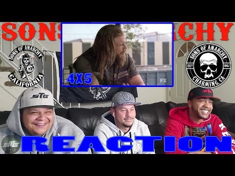 SONS OF ANARCHY SEASON 4 EPISODE 5 REACTION