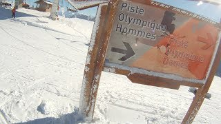 1968 Winter Olympic Games, Men's Downhill Track - Chamrousse, France - shot with GoPro