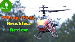 ✔ РУ Вертолет WLtoys V913 Brushless Полный обзор и полеты. Banggood.com(Распаковка посылки: http://goo.gl/LhMnOo Купить V913 Brushless на Banggood: http://bit.ly/184y5H0 Подпишись, что бы не пропустить новые..., 2015-02-18T11:47:32.000Z)