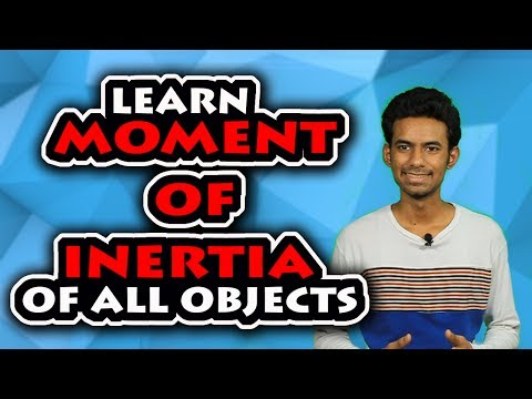 MOMENT OF INERTIA TRICK : LEARN ALL FORMULAS