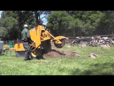 2000Vermeer SC752 Stump Grinding Demo