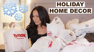 TJMAXX, HOMEGOODS, MARSHALLS HOME DECOR HAUL | Marie Jay