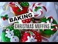 BAKING CHRISTMAS CUPCAKES // VLOGMAS DAY 7