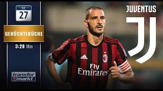 Bonucci hofft auf Juve-Rückkehr: Milan verhandlungsbereit