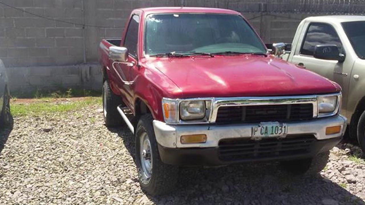 Toyota 22r Ano 1990 4x4 V6 Youtube