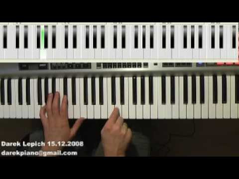 progression F key - 1-4-6-5 - intro - piano lesson