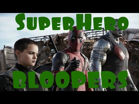 Superheroes Movies - Bloopers