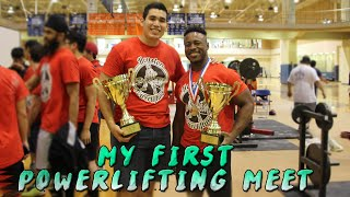 My First Powerlifting Meet | 1506lb Total | 1st Place(Weight class: 83kg/183lbs Weighed in at 181 Squat: 245kg/540lbs Bench: 165kg/363lbs Deadlift: 275kg/606lbs Total:684kg/1506lbs Wilks Score: 458.98 This ..., 2015-11-12T16:00:00.000Z)
