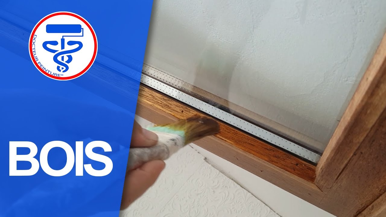 Comment Peindre Des Fenetres En Bois lasurer ou vernir un cadre de fenêtre comme un pro + utilisation du testeur  d'humidité