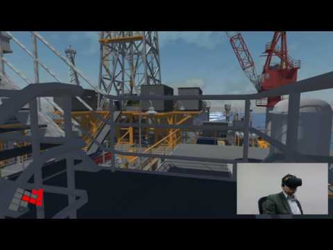 Vision4D Offshore helideck Demo